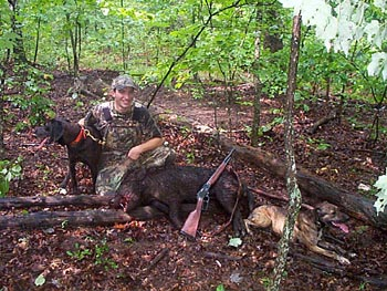 Tennessee Boar with Dogs