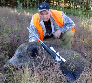 Tennessee Boar Hunt With Muzzleloader