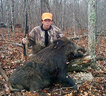 Tennessee Boar Hunt With Youth